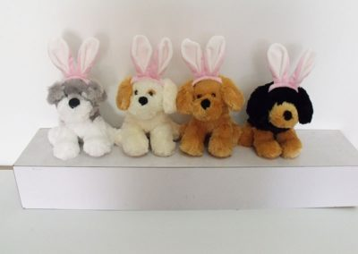 Easter Stuffed Dogs