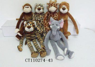 Long Arms Stuffed Safari Animals