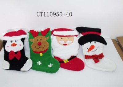 Plush Christmas Stockings