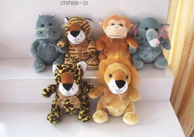 Stuffed Safari Animals