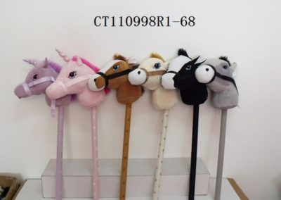 stick horses and unicorns with sound