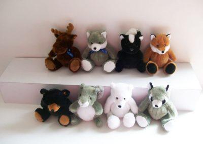 Stuffed Wild Animals