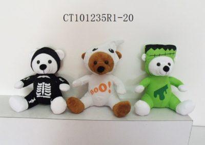 Stuffed Bear In Halloween Costume