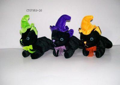 Stuffed Black Cats