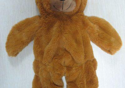 Unstuffed Bear Brown