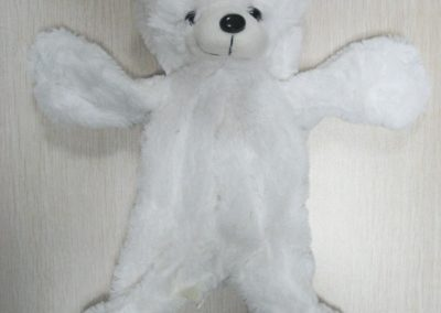 Unstuffed Bear White