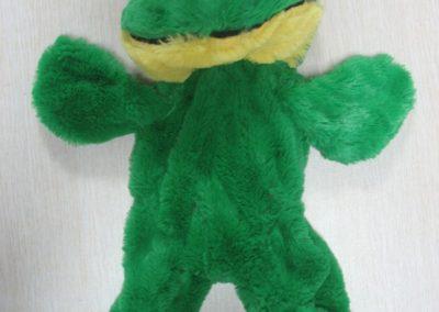 Unstuffed Frog