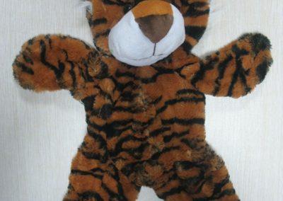 Unstuffed Tiger